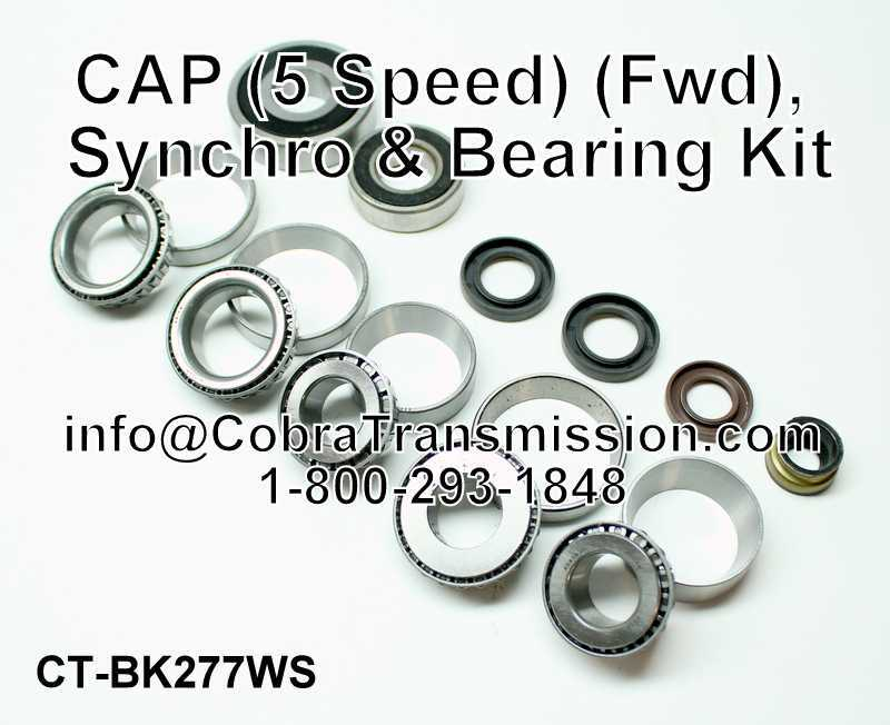 TR5B Synchro, Bearing, Gasket and Seal Kit