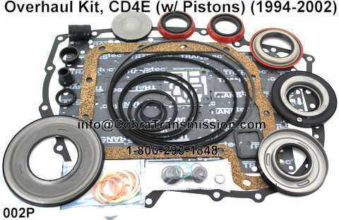 Overhaul Kit, CD4E (w/ Pistons) (1994-2002)