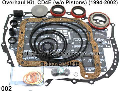 Overhaul Kit, CD4E (w/o Pistons) (1994-2002)