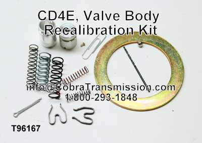 Valve Body Kit, CD4E