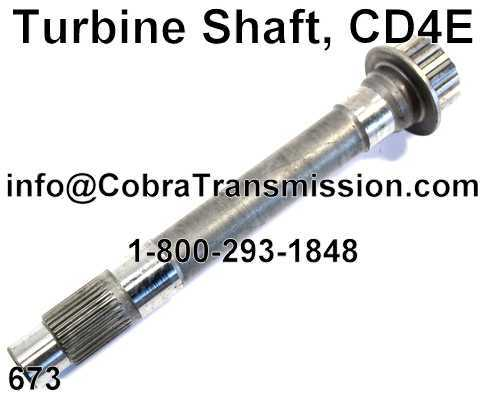 Turbine Shaft, CD4E
