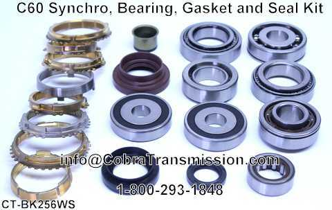 C60 Synchro, Bearing, Gasket and Seal Kit
