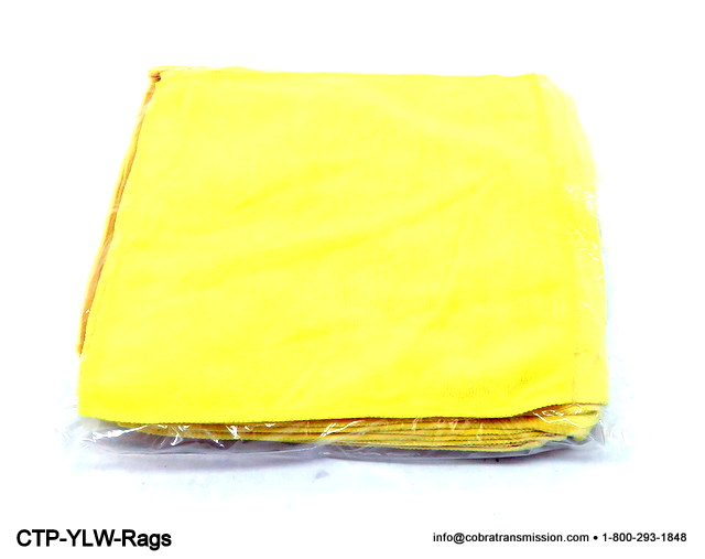 CTP Yellow Transmission Rags