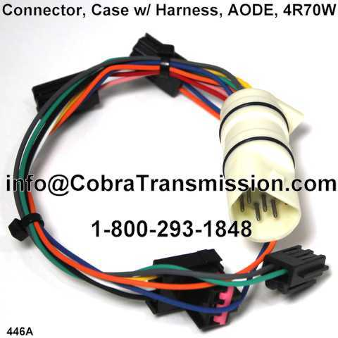 Connector, Case w/ Harness, AODE, 4R70W