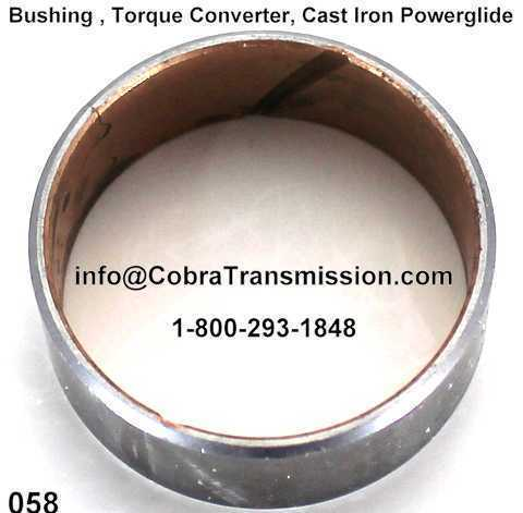 Bushing , Torque Converter, Cast Iron Powerglide