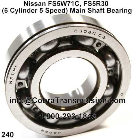 Nissan FS5W71C, FS5R30 (6 Cylinder 5 Speed) Main Shaft Bearing