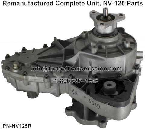 BMW NV125 Remanufactured Transfer Case