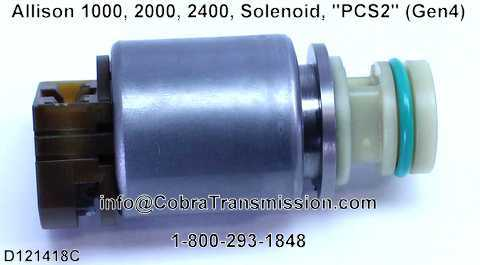 "Allison 1000, 2000, 2400, Solenoide, ""PCS2"" (Gen4)"