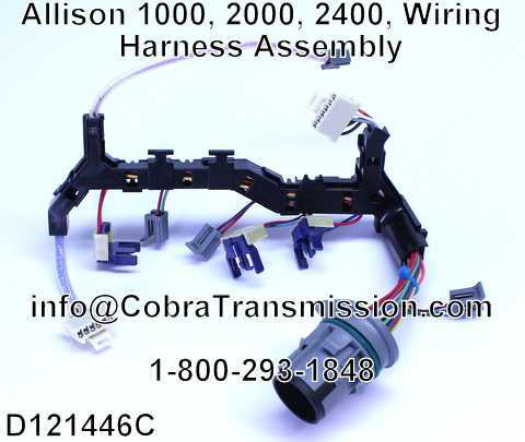 D121446C solenoid, sensor , cobra transmission allison wiring harness at reclaimingppi.co