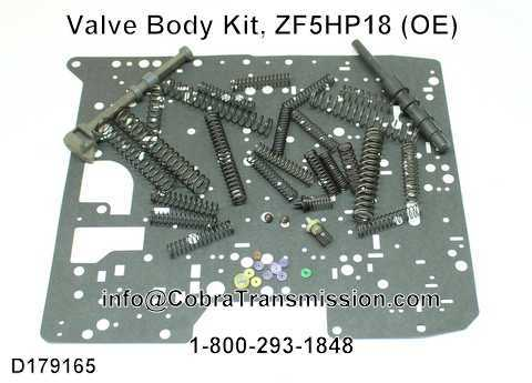 Valve Body Kit, ZF5HP18 (OE)