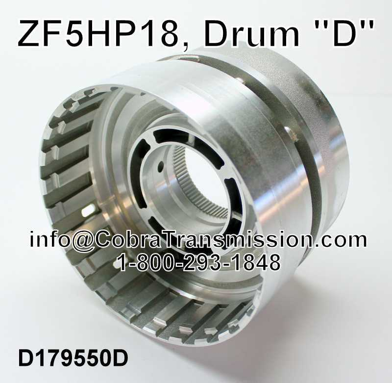 "ZF5HP18, Drum ""D"""