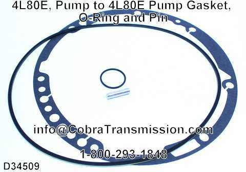 4L80E Pump Gasket O-Ring and Pin