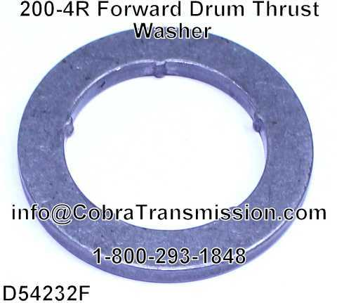 200-4R Forward Drum Thrust Washer