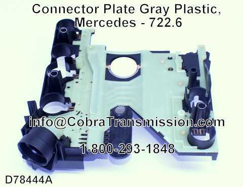 Connector Plate Gray Plastic, Mercedes - 722.6