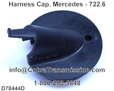 Harness Cap, Mercedes - 722.6