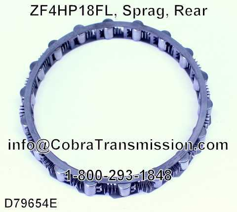 ZF4HP18FL, Sprag, Rear