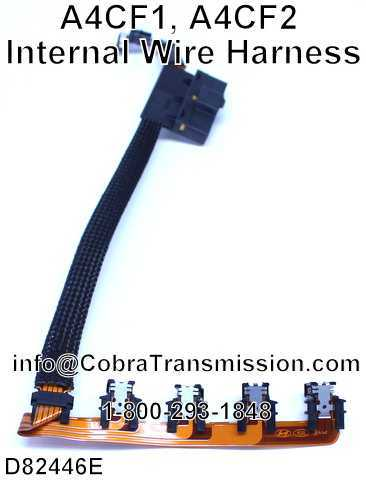 A4CF1, A4CF2 Internal Wire Harness