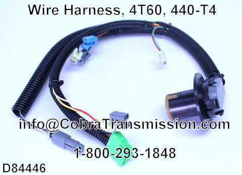 Wire Harness, 4T60, 440-T4
