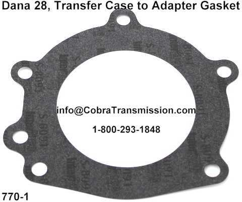 Dana 28, Transfer Case to Adapter Gasket