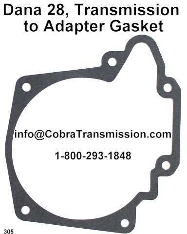 Dana 28, Transmission to Adapter Gasket