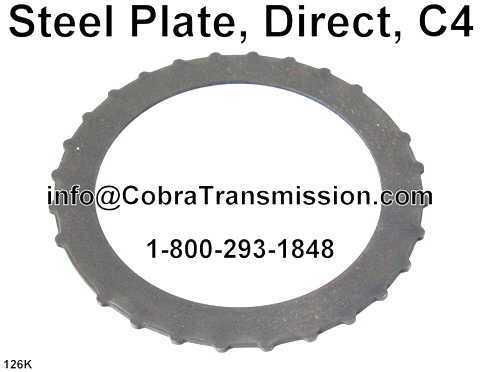Steel Plate, Direct, C4