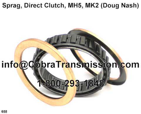 Sprag, Direct Clutch, MH5, MK2 (Doug Nash)