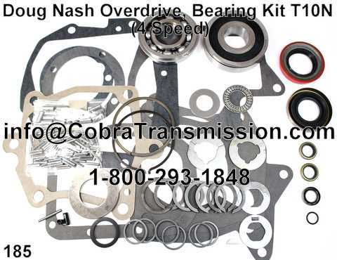 Doug Nash Overdrive, Bearing, Gasket and Seal Kit