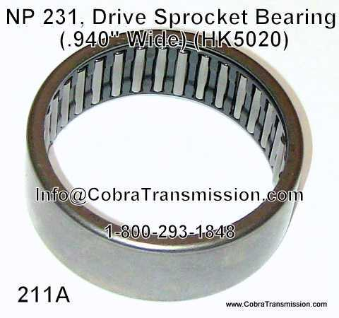 NP 231, Drive Sprocket Bearing