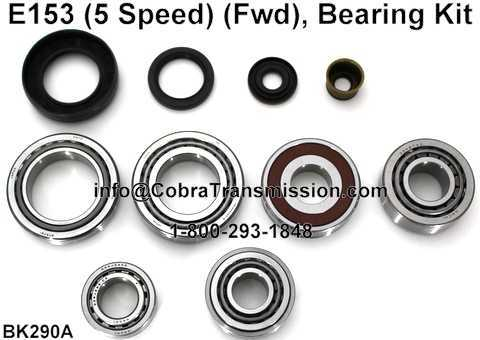 E153 Bearing, Gasket and Seal Kit