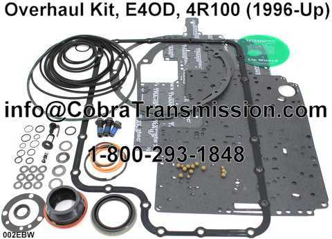 Overhaul Kit, E4OD, 4R100 (1996-Up)