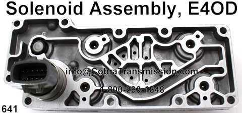 Solenoid Assembly, E4OD
