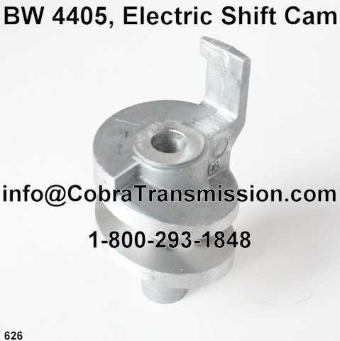 BW 4405, Electric Shift Cam