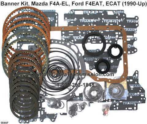 Banner Kit, Mazda F4A-EL, Ford F4EAT, ECAT (1990-Up)