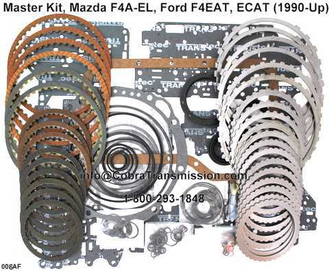 Master Kit, Mazda F4A-EL, Ford F4EAT, ECAT (1990-Up)