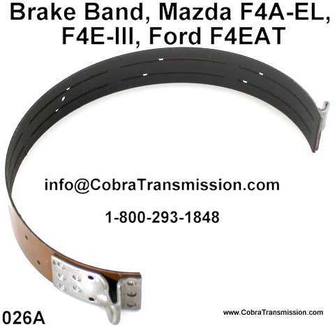 Brake Band, Mazda F4A-EL, F4E-III, Ford F4EAT