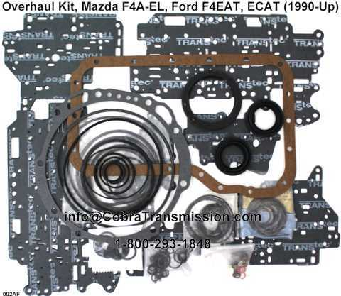 Overhaul Kit, Mazda F4A-EL, Ford F4EAT, ECAT (1990-Up)