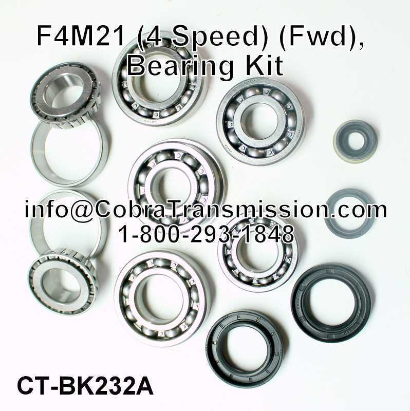 F4M21 Bearing, Gasket and Seal Kit
