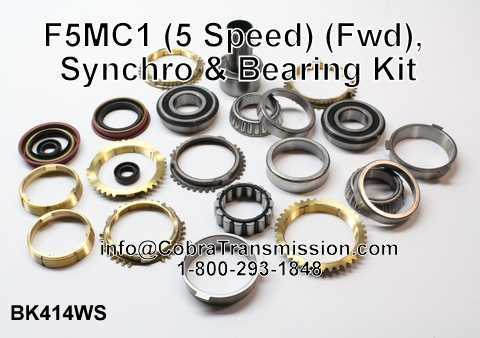F5MC1 Synchro, Bearing, Gasket and Seal Kit