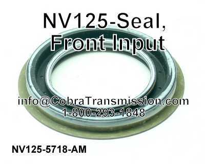 NV125-Seal, Front Input