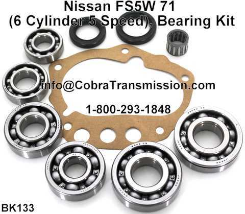 Nissan FS5W 71 Bearing, Gasket and Seal Kit