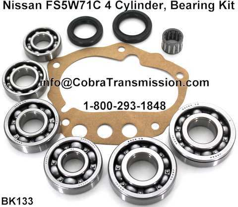 Nissan FS5W71C Bearing, Gasket and Seal Kit