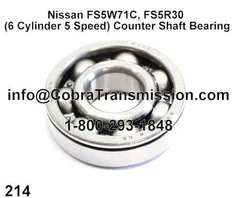 Nissan FS5W71C, FS5R30 (6 Cylinder 5 Speed) Counter Shaft Bearin