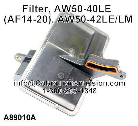 Filtro, AW50-40LE (AF14-20), AW50-42LE/LM