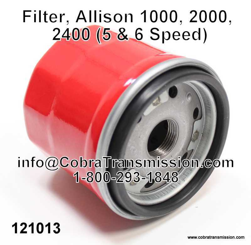 Filter, Allison 1000, 2000, 2400 (5 & 6 Speed)