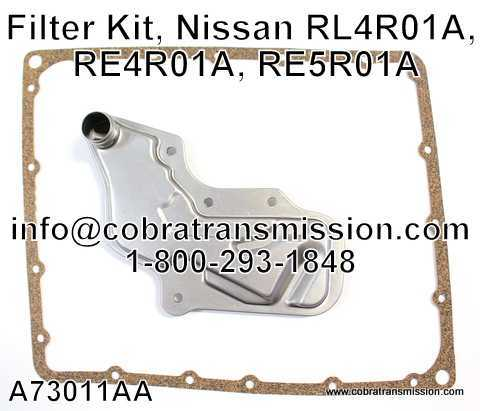 Filter Kit, Nissan RL4R01A, RE4R01A, RE5R01A