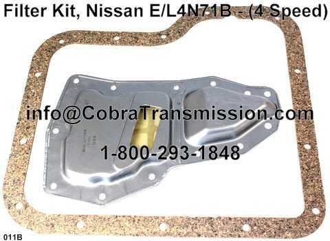 Filter Kit, Nissan E/L4N71B - (4 Speed)