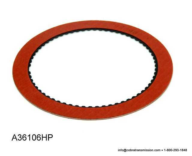 C6 Direct Friction Plate