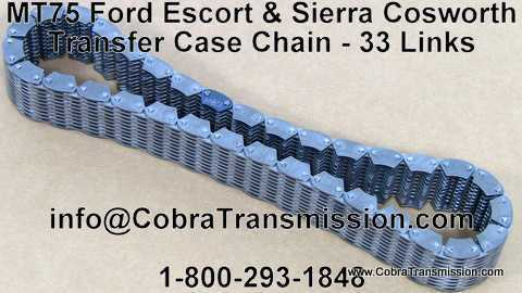 Ford MT75 Escort & Sierra Cosworth Transfer Case Chain