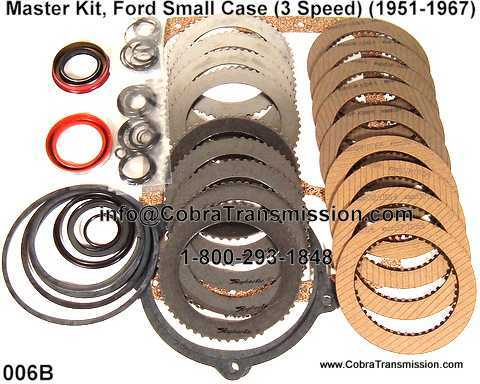 Master Kit, Ford Small Case (3 Speed) (1951-1967)