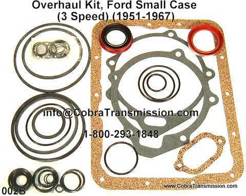 Overhaul Kit, Ford Small Case (3 Speed) (1951-1967)